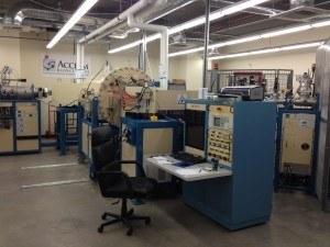 Control center for the AMS at Accium Biosciences