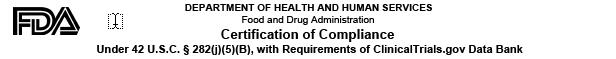 Form FDA 3674 header